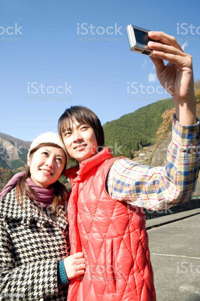 Couple pictures royalty-free stock photo