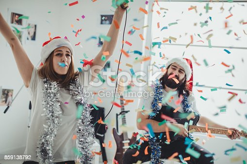 849354708istockphoto Couple playing and singing together 859138792