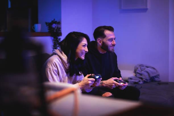 Paar Videospiele – Foto