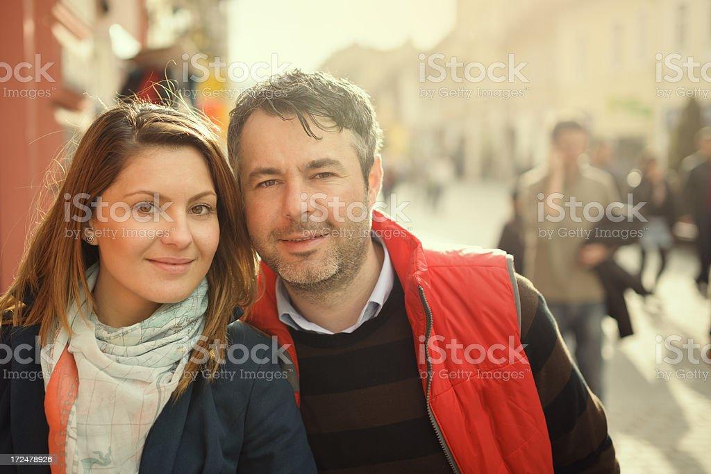 couple portrait royalty-free stock photo