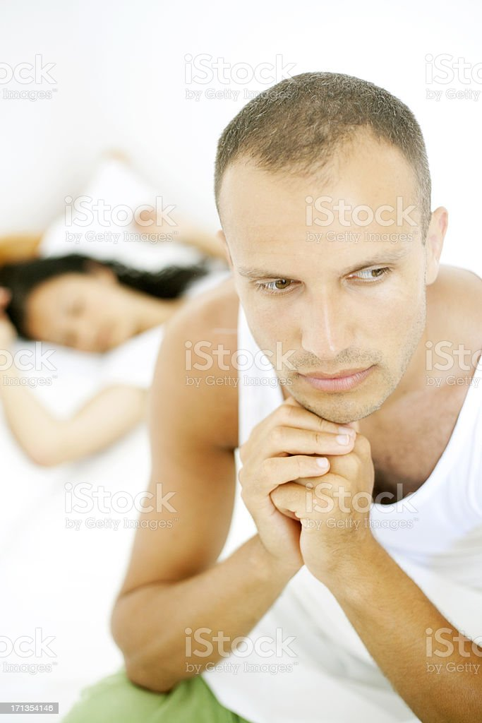 couple problem royalty-free stock photo