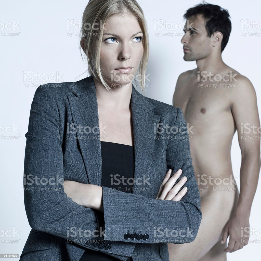 couple relationship difficulties dispute conflict royalty-free stock photo