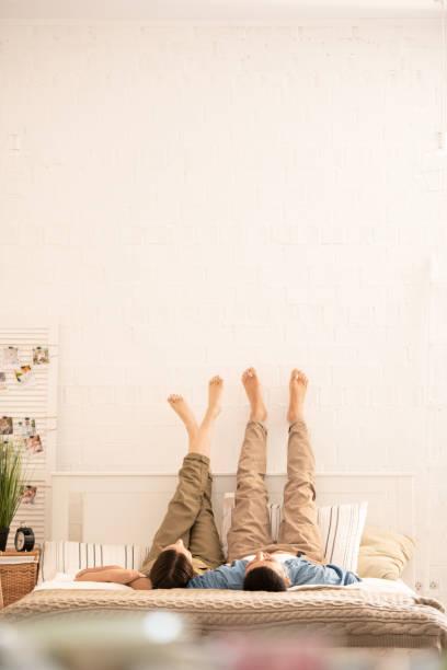 Paar Entspannung zu Hause – Foto