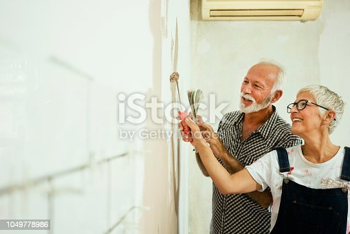 istock Couple remodeling their home 1049778986