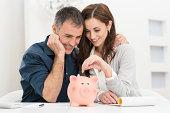 istock Couple Saving Money 466037151