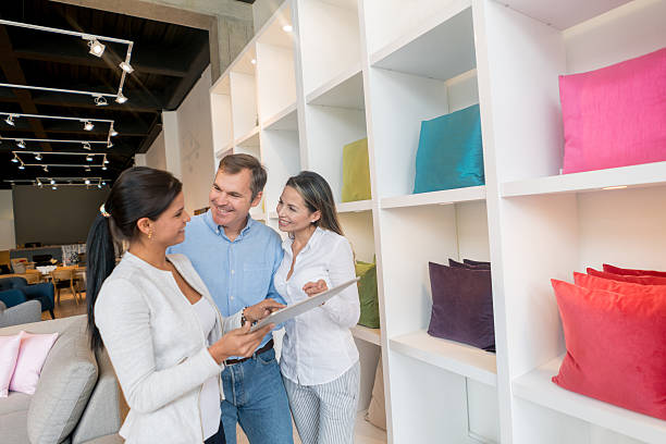 Couple shopping at a furniture store stock photo. Furniture Shopping Pictures  Images and Stock Photos   iStock