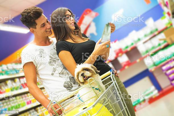 Couple shopping in pet store with shih tzu in foreground picture id509704379?b=1&k=6&m=509704379&s=612x612&h=baiomk5e7ewujkd5zebplnnznkdv izjagltw5t hz4=