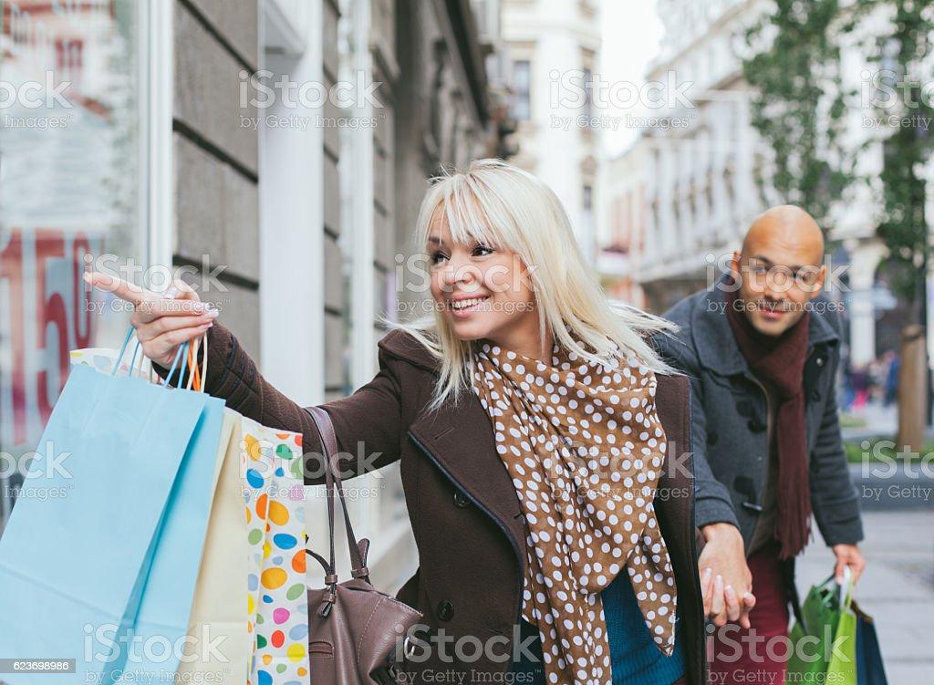 Couple shopping圖像檔