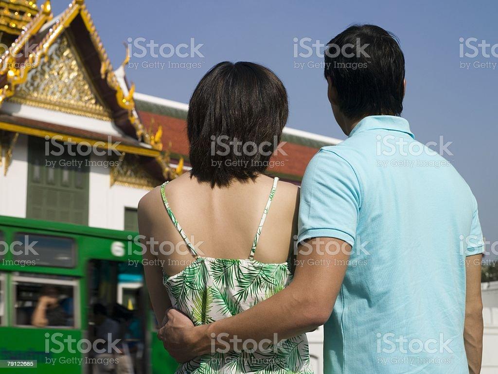 커플입니다 관광 royalty-free 스톡 사진