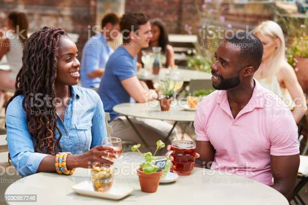 Couple sitting at table in pub garden enjoying drink together picture id1030957246?b=1&k=6&m=1030957246&s=612x612&h=jovgofwvnnra96na8wb24gv68afm02im6aaswwb1omc=