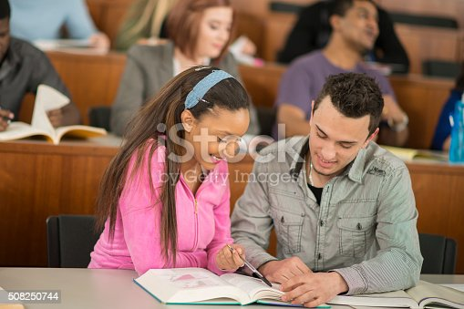 istock Couple Studying Together 508250744