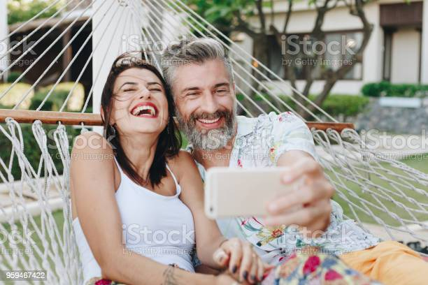 Couple taking a selfie while on vacation picture id959467422?b=1&k=6&m=959467422&s=612x612&h=zrlwrw3prl5kyqtmmxbjt0txanf7q7fnxzxijejz4x0=
