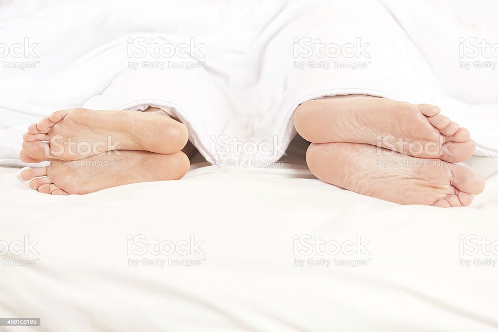 Couple trouble. stock photo