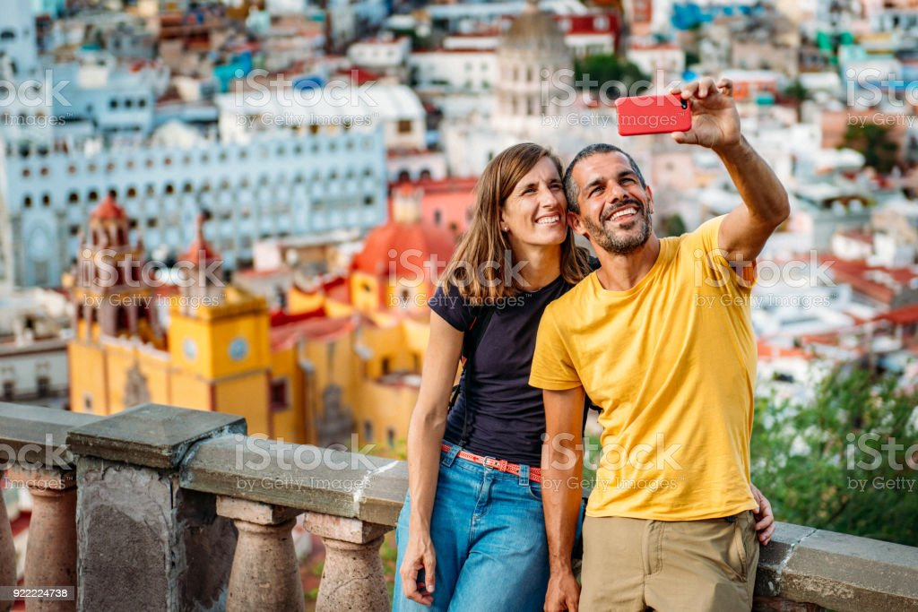 Paar Besuch Guanajuato Mexiko – Foto
