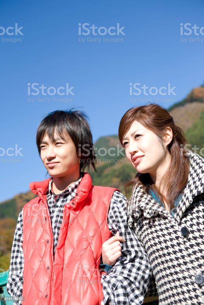 夫妻挽 免版稅 stock photo