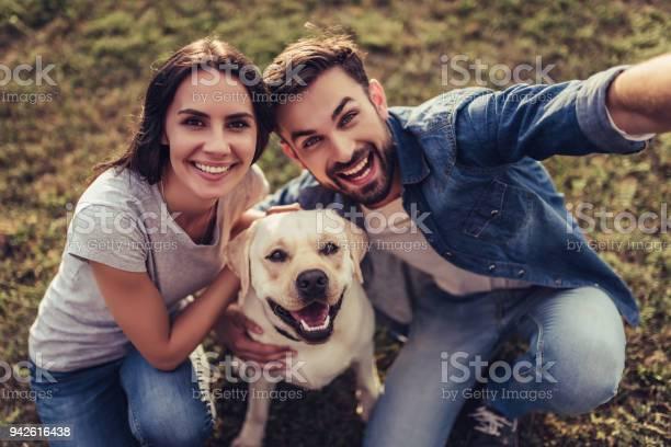 Couple with dog picture id942616438?b=1&k=6&m=942616438&s=612x612&h=fx9kynn1ghxicitjocazjtxmyzayisxf nam4yaoozc=