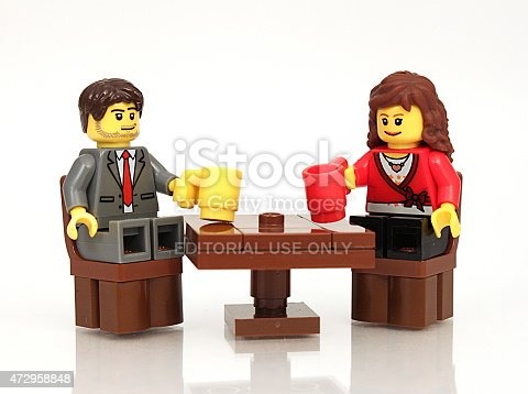 istock Couple with Drinks 472958848