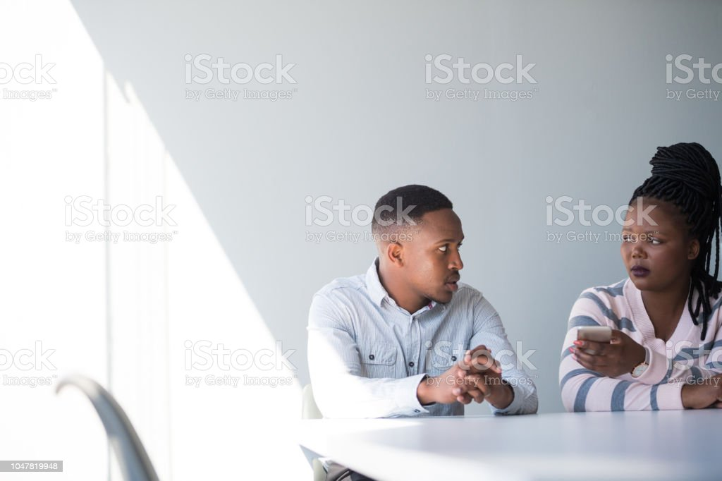 Couples counseling stock photo