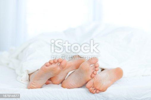 istock Couple's Feet 157914577