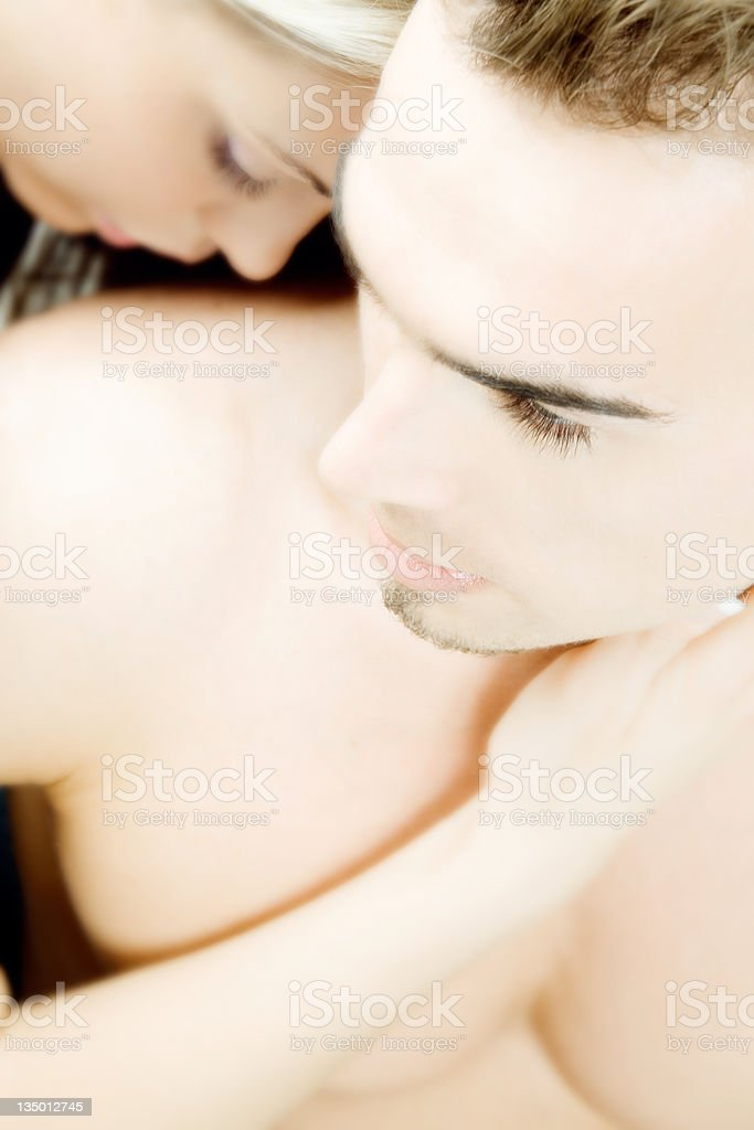 Couple's Moments royalty-free stock photo