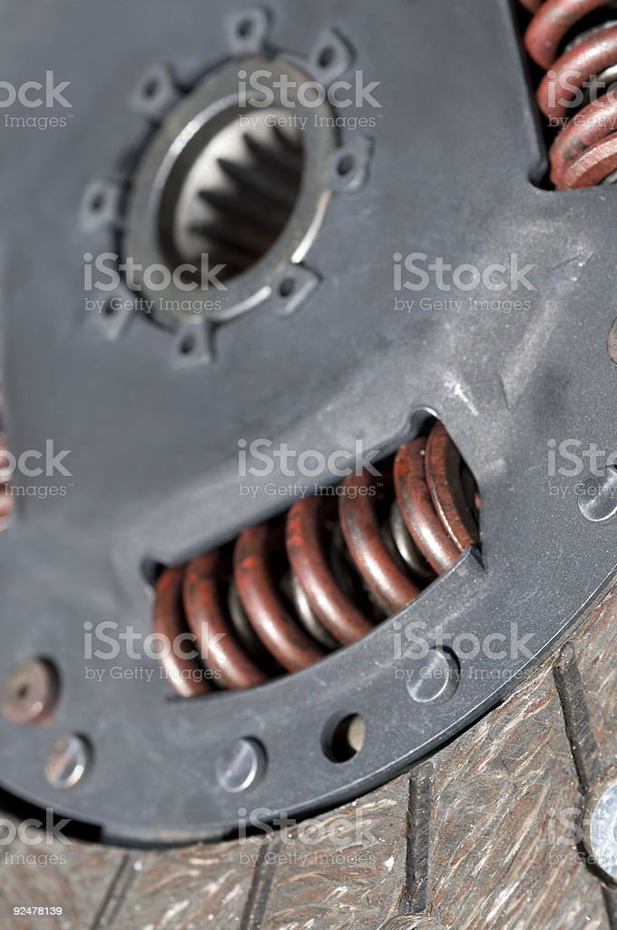 Coupling royalty-free stock photo