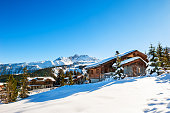 istock Courchevel village in Alps mountains, France. 1181579515