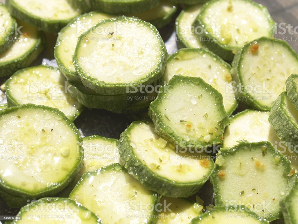 Courgettes zucchini royalty-free stock photo