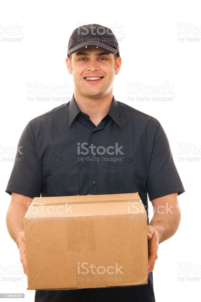Courier royalty-free stock photo