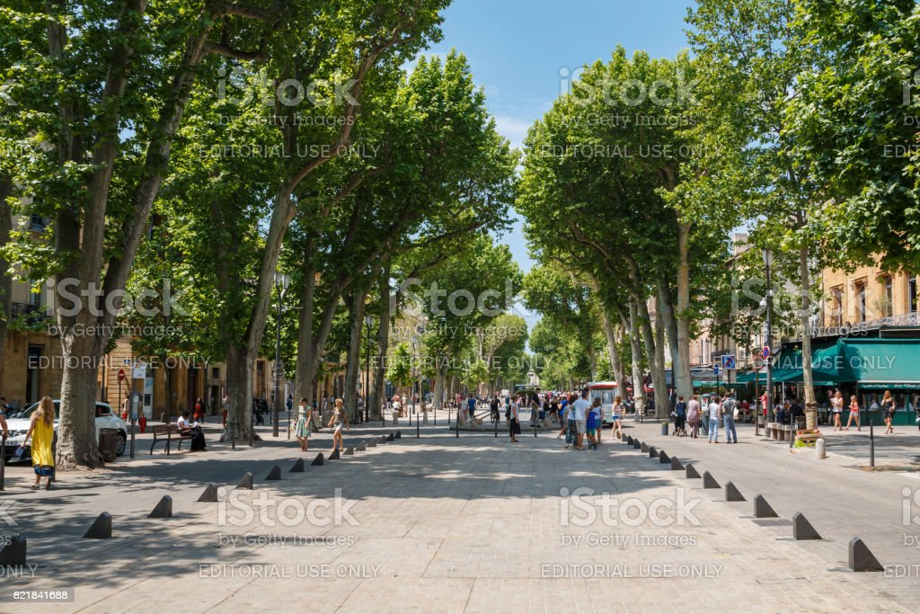 Cours Mirabeau - Photo