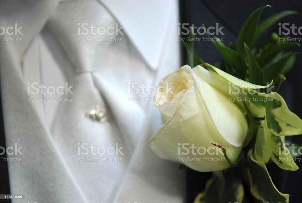 Coursage royalty-free stock photo