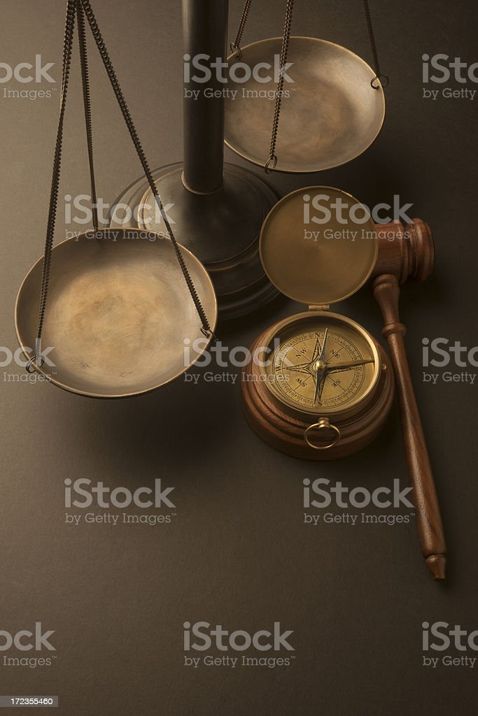 Court Direction royalty-free stock photo