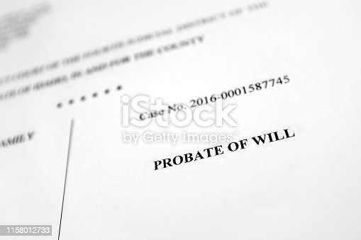 istock Court documents complaint filings legal proceedings 1158012733