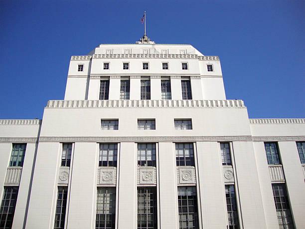 Court of Alameda - Superior Court of California stock photo