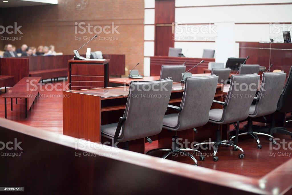 court Zimmer Lizenzfreies stock-foto