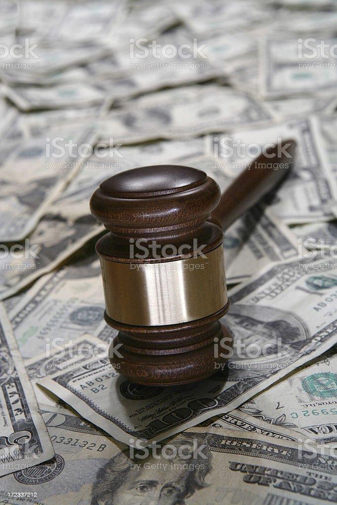Court Settlement royalty-free stock photo