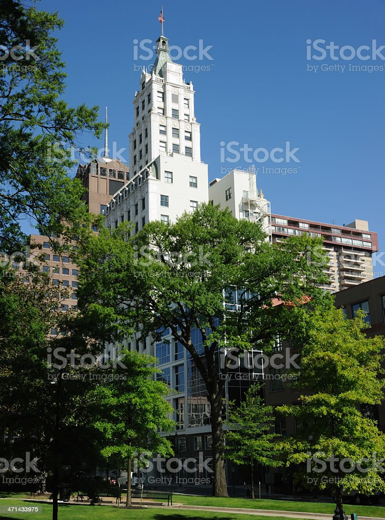 Court Square, Memphis royalty-free stock photo