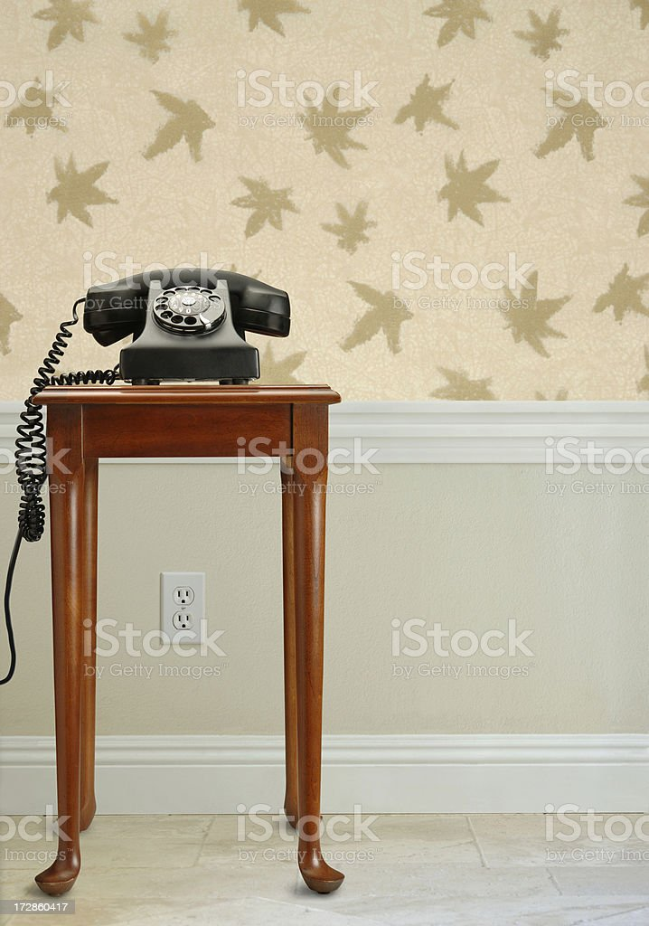 Courtesy Phone royalty-free stock photo