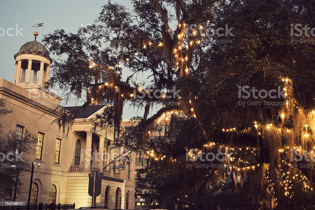 Courthouse in downtown Tallahassee stock photo