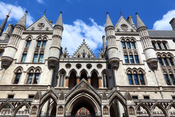 Courthouse in London stock photo