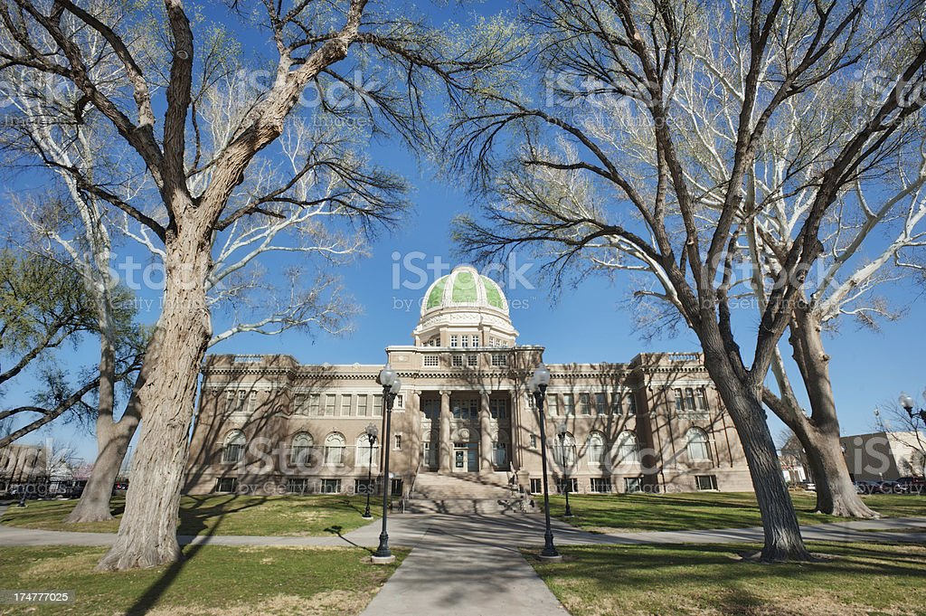 Courthouse in Roswell, New Mexico royalty-free stock photo