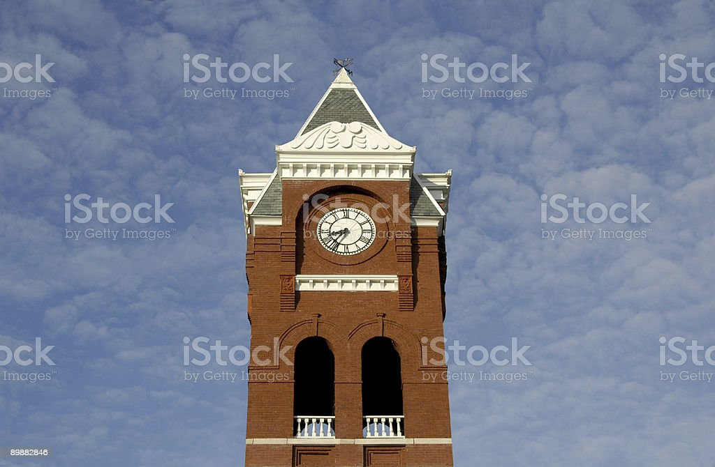 Courthouse Tower royalty-free stock photo