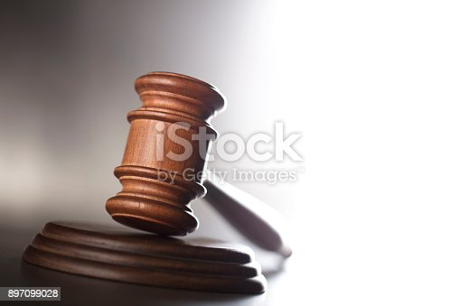 istock Courtroom concept. 897099028