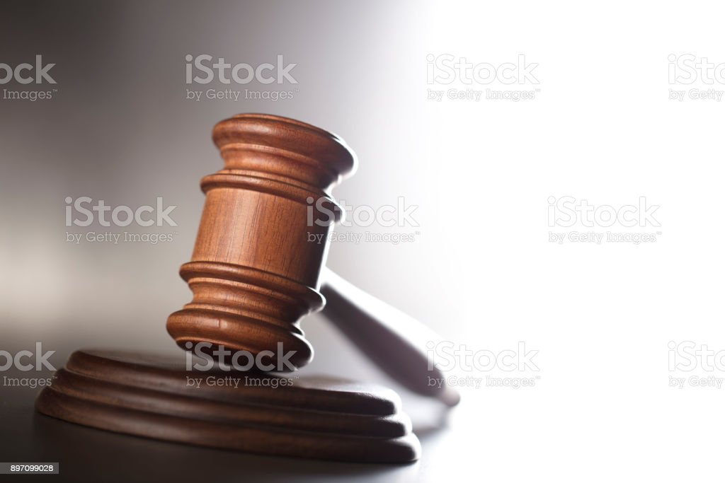 Courtroom concept. stock photo