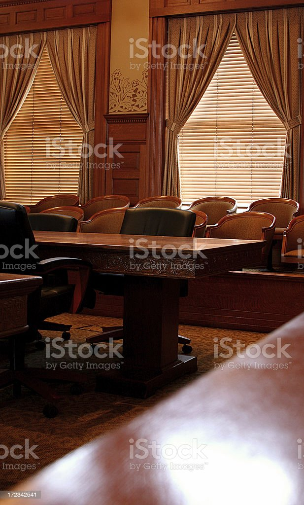 Courtroom Vertical stock photo