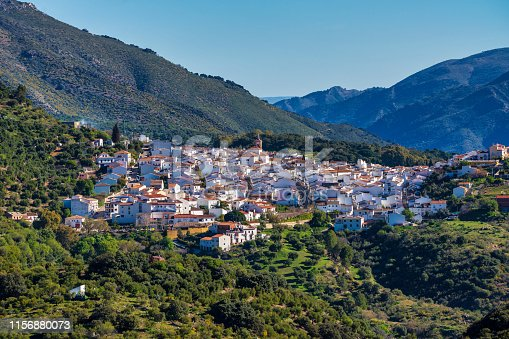 Cortes de la Frontera, Serrania de Ronda, Malaga, Andalusia, Spain Iberian Peninsula