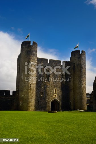Caerphilly Castle (Welsh: Castell Caerffili) is a Medieval castle that dominates the centre of the town of Caerphilly in south Wales.