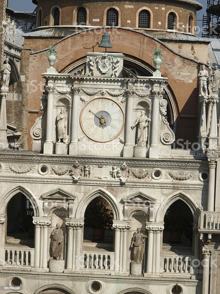 Courtyard of the Doge's Palace in Venice royalty-free stock photo