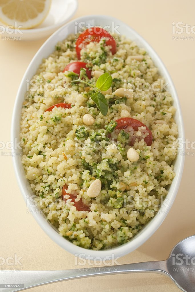 Couscous Salad royalty-free stock photo