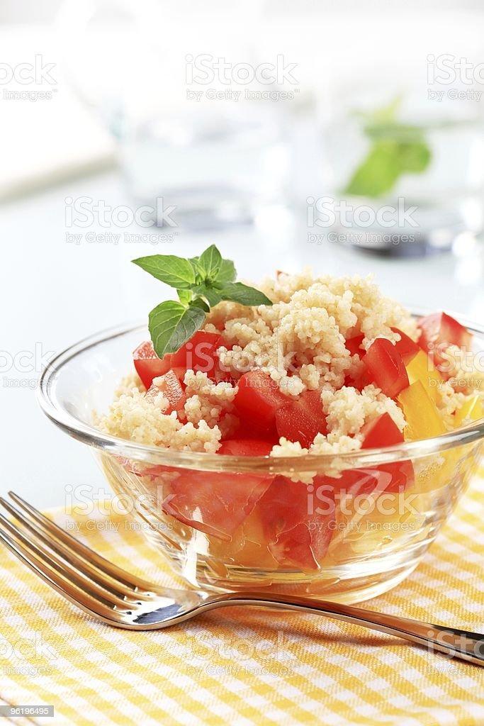 Кускус-еда салат Стоковые фото Стоковая фотография