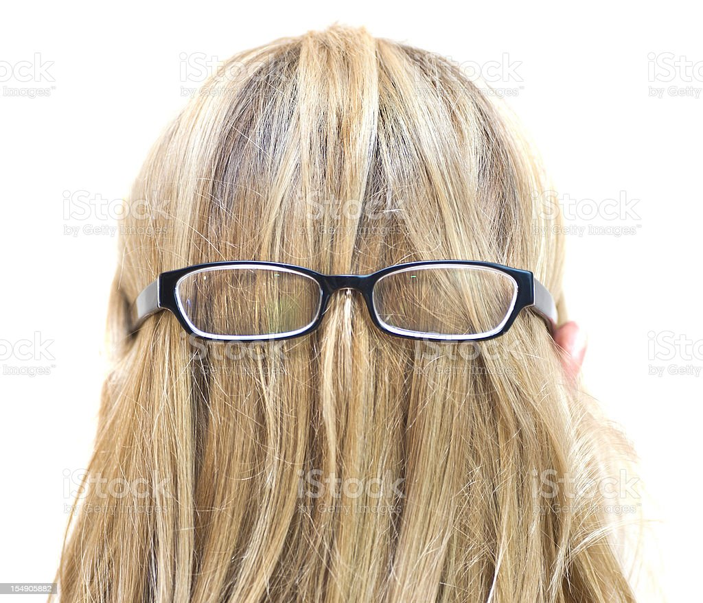 Cousin Itt Adams family ;) stock photo